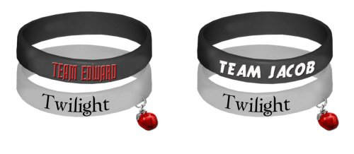 Twilight Rubber Bracelet Set