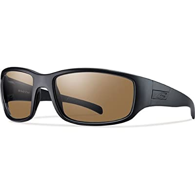 Smith Optics Elite Prospect Tactical Sunglass, Polarized Brown, Black by Smith Optics