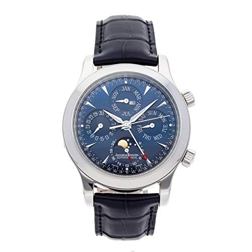 (Jaeger-LeCoultre Memovox Mechanical (Automatic) Blue Dial Mens Watch Q146648A (Certified Pre-Owned))