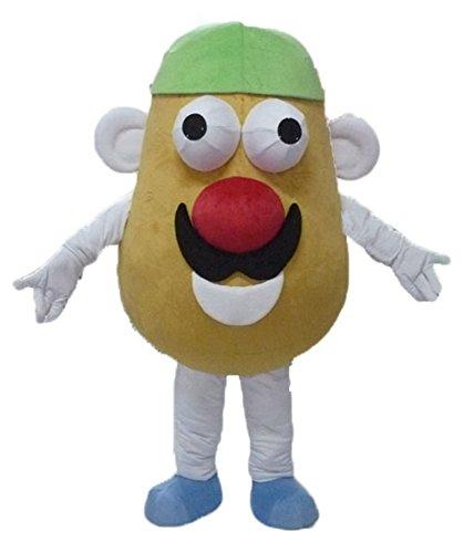 100% Real Photos Mr Potato Mascot Costume Vegetable Mascots for Performance Carnival Dress Deguisement Mascotte]()