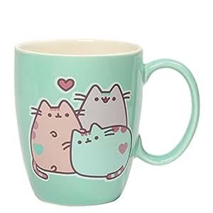 Gund Pusheen The Cat Pastel Stoneware Mug, 12 oz