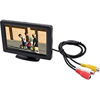 Accele LCDP43LW 4.3 Inch Universal Monitor with Swivel Mount