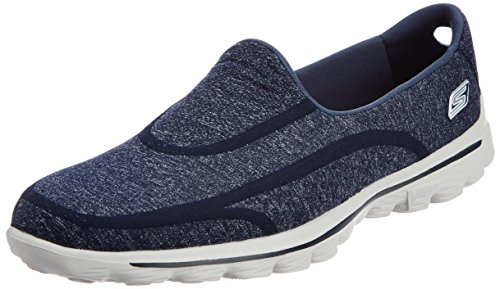 mode Baskets Supersock femme Gowalk Nvgy Bleu Skechers 2 Zq4Uzwnq6