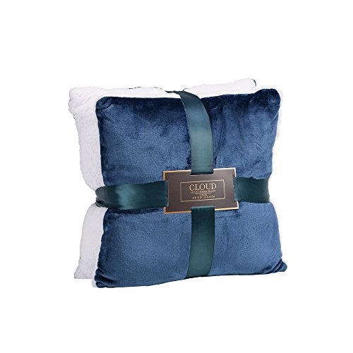 Northpoint Trading Inc. Cloud Velvet Berber Pillows, 2-Pack, 18