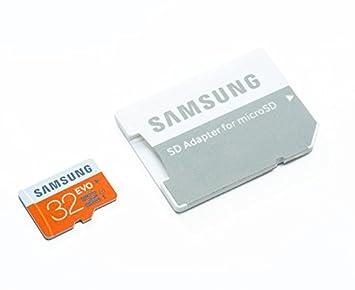 Amazon.com: Samsung 32 GB Evo Micro SD tarjeta de memoria ...