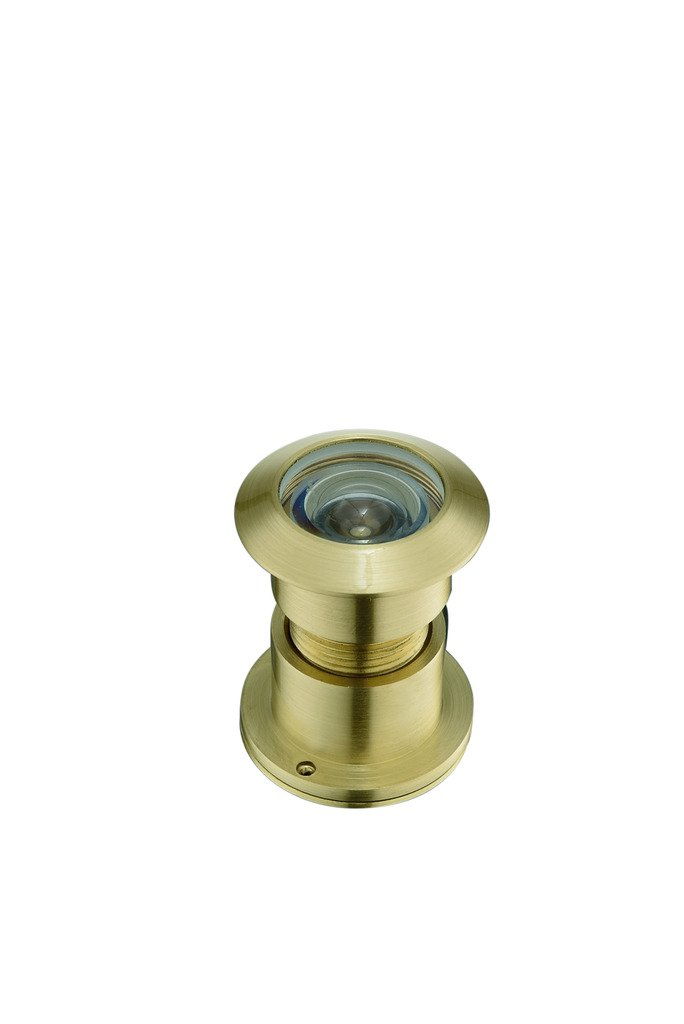 TOGU TG3828NG-SN Brass UL Listed 220-degree Door Viewer with Heavy Duty Privacy Cover for 1-3//5 to 2-1//6 Doors Satin Nickel Finish