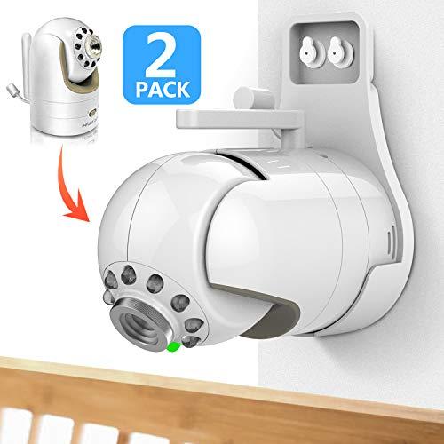 Wall Mount for Infant Optics DXR-8, Featch Simplest Bracket Stand for Infant Optics DXR-8-2 Pack