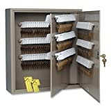 MMF STEELMASTER UnitagTM 240 Key Cabinet, Single Key Lock, Sand