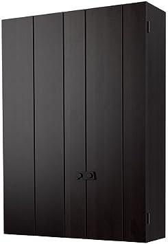 IKEA OLOFSTORP - armario de pared, pino, negro - 75 x 100 cm: Amazon.es: Hogar