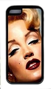 Iphone 5/5C - Iphone 5C Case DIY - DIY Iphone 5C Case cover Marilyn Monroe PC Black Case-MM5CTB066