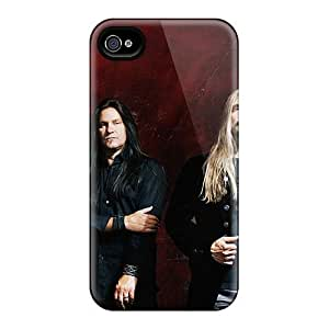 Protective Hard Phone Covers For Iphone 4/4s With Customized Fashion Megadeth Band Skin DannyLCHEUNG