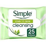 Lenços Umedecidos de Limpeza Simple 25 UN, Simple