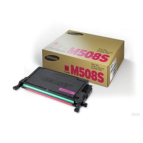Samsung CLT-M508S Toner Cartridge Magenta for CLP-620ND, 670ND; CLX-6220FX, 6250FX