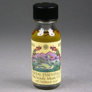 (Patchouli Musk - Sun's Eye Herbal Essential Oils - 1/2 Ounce Bottle)