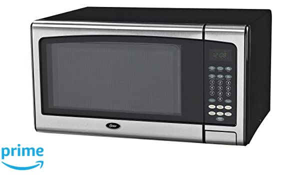 Amazon.com: Oster OGSMJ411S2-10 1.1 cu. Ft. Microwave Oven ...