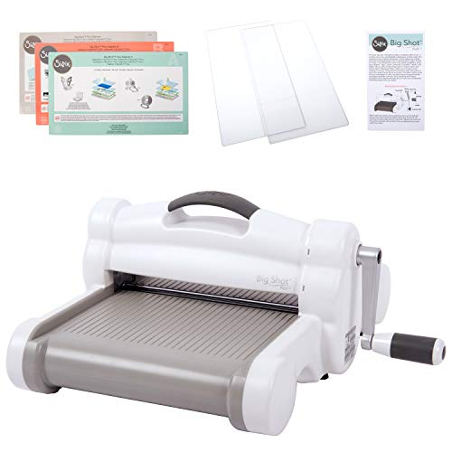 Sizzix Big Shot Plus Manual Die Cutting and Embossing Machine, 9 in (21 cm) Opening, ()