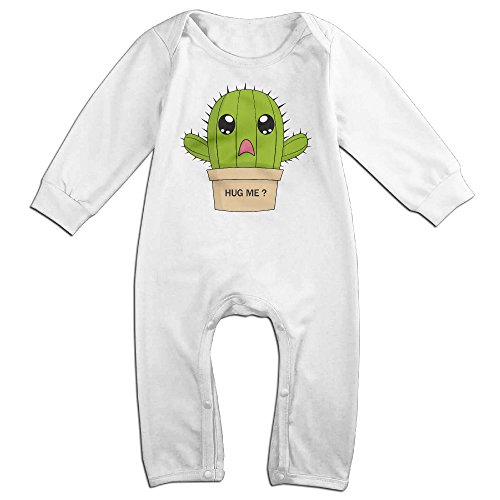 [Dadada Newborn Hug Cactus Long Sleeve Jumpsuit Outfits 18 Months] (Baby Pot Plant Costume)