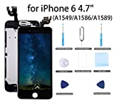 "for iPhone 6 Screen Replacement Black - 4.7"" LCD Display Screen Touch Digitizer"