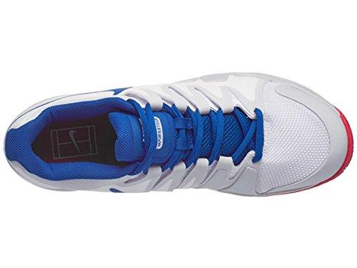 Zoom Vapor De Nike Zapatos De Los Hombres 9,5 Viaje De Tenis (invierno 2017) Colores Blanco Y Negro Roja
