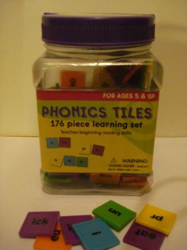 Phonics Tiles 176 Piece Learning Set