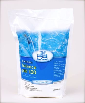 BioGuard Balance Pak 100 Alkalinity Increaser - 4 Lb (Sodium Hydrogen Carbonate compare prices)