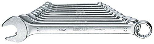 GEDORE 7-011 Combination spanner set 11 pcs UD profile 8-22 mm ()