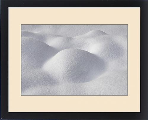 Framed Print of Snow pillow, Kalispell, Montana by Fine Art Storehouse