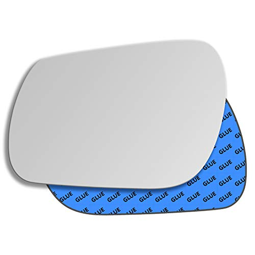 Hotaluyt Left Driver Side Wing Power Mirror Glass Rearview Mirror Replacement for Sagitar Jetta MK5 1K1857507BG