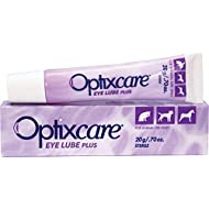 OptixCare Pet Eye Lube Plus + Hyaluron 20g for Dog Cat Horses