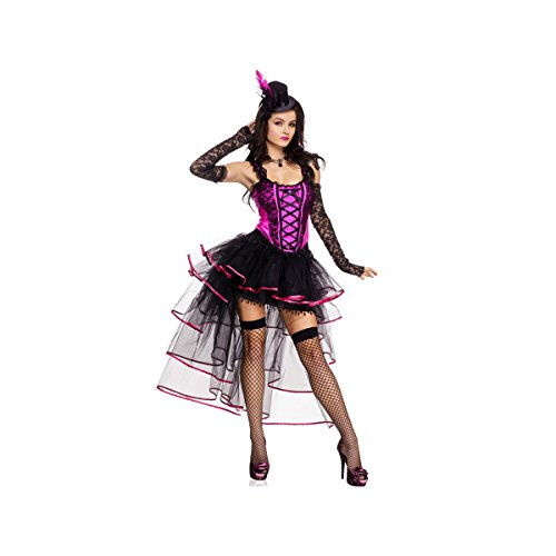 French Can Can Costumes (Burlesque Queen Adult Costume - X-Large)