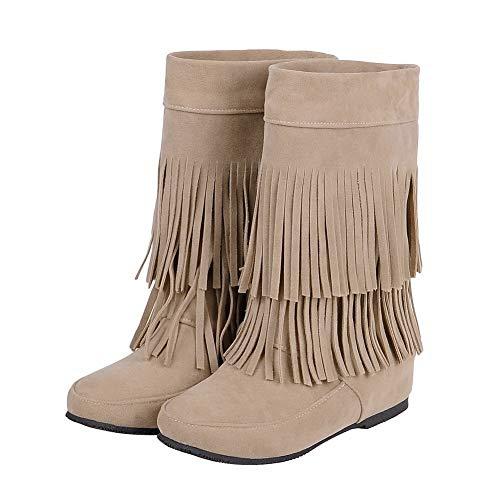 Sandales Abl10877 36 Balamasa Femme 5 Compensées Abricot Beige gqxnvA5nZ