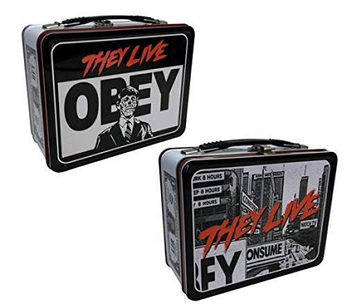 Factory Entertainment They Live Obey Tin Tote - Movie Lunch Box