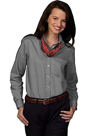 Edwards Garment Women 39 S Easy Care Long Sleeve Oxford Shirt