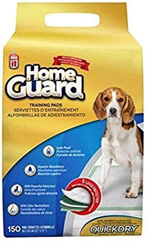 Dogit Dog and Puppy Pee Pads, Training Pads for Dogs, Absorbent Pad Quilted with Quick Dry Technology