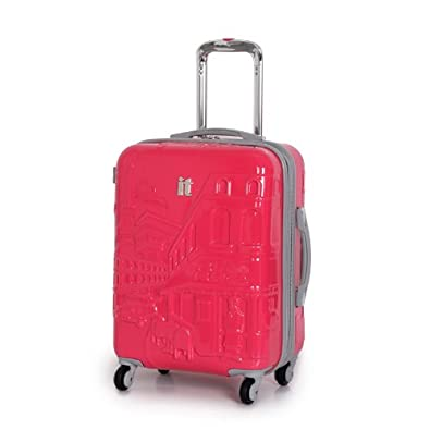 IT Luggage Small Pink 57.5cm/19.3