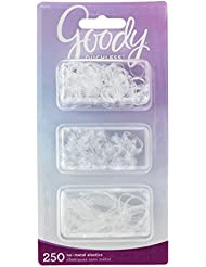 Goody Women's Ouchless Multi Clear Polyband Elastics...