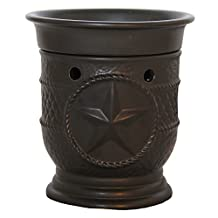 A Cheerful Giver Black Star Wax and Oil Warmer