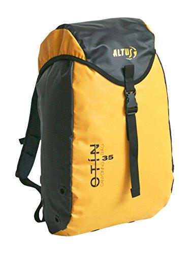 Altus Otin 35 - Mochila, unisex, color amarillo/negro, talla única: Amazon.es: Zapatos y complementos
