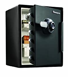 SentrySafe SFW205CWB Water-Resistant Combination Safe, 2X-Large Review