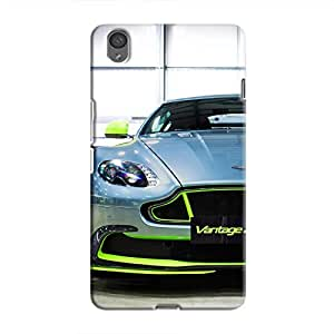 Cover It Up - AM Vantage GT8 Green OnePlus X Hard Case