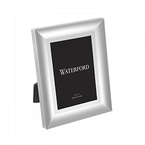 Waterford Lismore Diamond Silver 5x7 Picture Frame