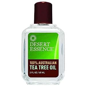 Desert Essence Tea Tree Oil 100% Pure, 2-Ounce