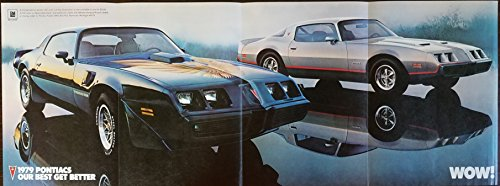 "Original Magazine Print Ad Poster: 1979 Pontiac Firebird Trans Am and Formula, 11 X 28 inches,""A New Breed of Wow.From Pontiac"""