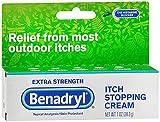 Benadryl Itch Stopping Cream Extra Strength 1 oz (Pack of 4)