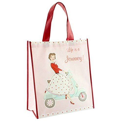 mixed 1950 Style Mrs Bag Vintage Smith Pink Days Shopping Happy Retro xv578w8zq