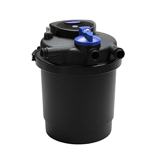 1600 Gal Pressure Pond Filter w/ 13w Uv Sterilizer Koi Fish by Pressure Pond Filter