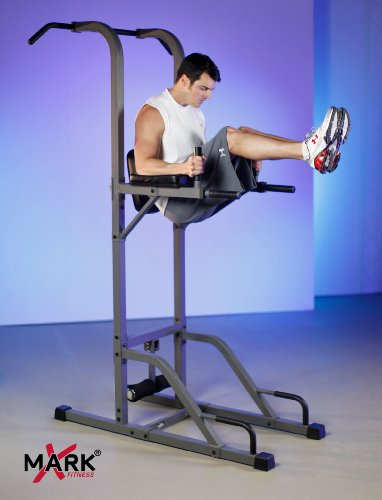 Xmark Vkr Vertical Knee Raise With Dip And Pull Up Station