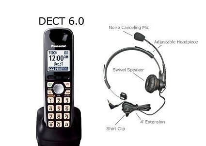 amazon com panasonic accessory handset for kx tg4011 kx tg4012 rh amazon com
