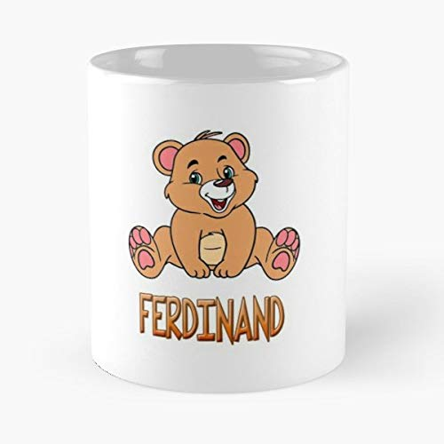 (Ferdinand Mug Cups Gift - Best Gift Coffee Mugs Unique Ceramic Novelty Cup )