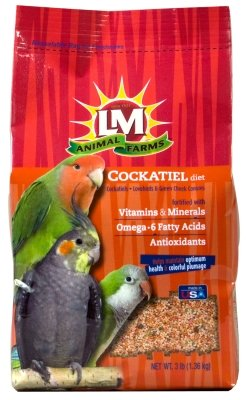 LM ANIMAL FARMS - LM COCKATIEL (3 LB)